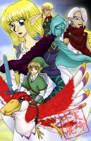 Skyward Sword Poster by kojika