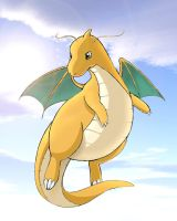 Dragonite - colored by Jackie-Blaire