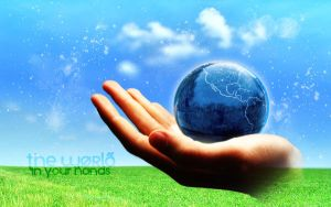 The World in Your Hands by SylvieVC