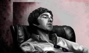 Noel Gallagher by Grunnet