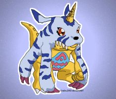 Gabumon by bubu2993