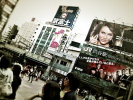 meeting at.Shibuya St. by NoQuarter666