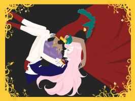 utena and anthy by Leotichan