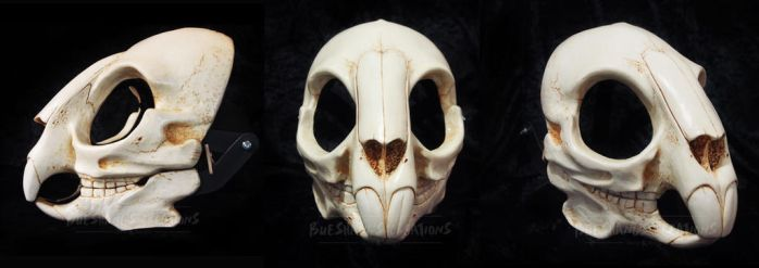 Rodent/Rabbit Skull Mask - painted by Bueshang