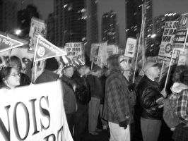 March Against the Iraq War 4 by Artificient