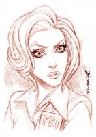 Agent Scully - The X Files by andersonmahanski