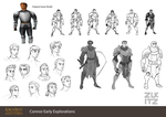 Early Connor Explorations by Zukitz