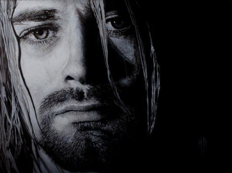 Kurt Cobain by MRailas-art