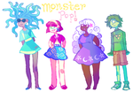 monster pop! by Calallini