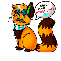 Raise Your Moustache! by choco-bit