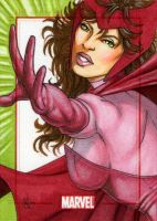 Marvel 70th, Scarlet Witch by Dangerous-Beauty778