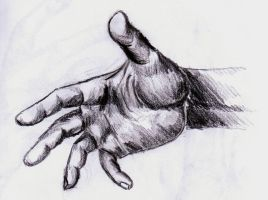 Hand 5 by TheLittleCrow