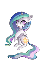 ~Chibi Celestia~ by Potates-Chan
