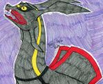 The Lonely Rayquaza by FlygonPirate