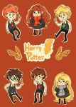 Harry Potter Chibis by pomifumi
