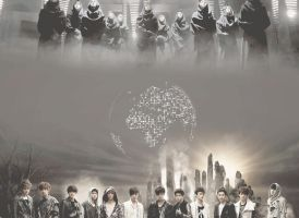 Happy 1st anniversary EXO by Nhiholic