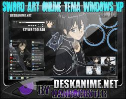 Kirito Theme Windows XP by Danrockster