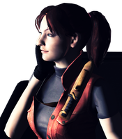 Operation Raccoon City Claire Render. by ElyStrife