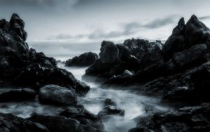 This Rocky Coast 7 by welshdragon