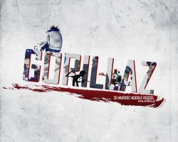 GORILLAZ Wallpaper by 15Witex15