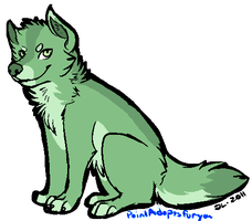 Wolf Adoptable CLOSED by CassMutt