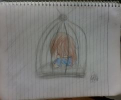 Alone in my cage by tashaj4de