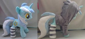 Lyra with socks and hoodie by Epicrainbowcrafts