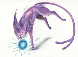 Espeon by Magickie