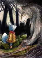 Mr. Nubus and the Wolf by Dunicakes