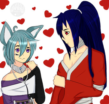 Contest Entry: Soji and Minx by FearlessLeo
