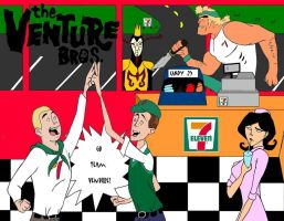 7 11 Presents the Venture Bros by macswake