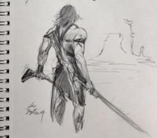 daily sketch 3559 by nosoart