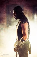Cosplay - Mortal Kombat - Scorpion by brijcharan