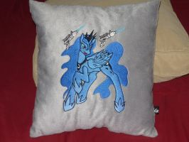 MLP Fim Princess Luna Pillow by TheoneYellow