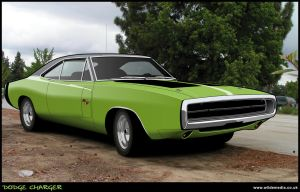 Dodge Charger with Background by wilde-media