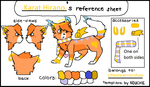 Karat Ref Sheet (NEW) by H3ARTOFTHEOCEAN