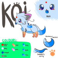 Koi Reference Sheet by McFleury917