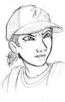 [Glare] (even more Clementine Practice) by DJ-black-n-white