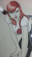 mary jane work in progress by Sajad126