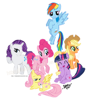 My Little Pony: Friendship Is Magic by itsdanielle91
