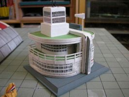 Scale model control tower by Rekalnus