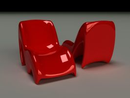 Red Chair Concept Old by Zortje