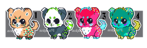 Baby Puppy Adopt ~Batch 03~ (CLOSED) by malphas90
