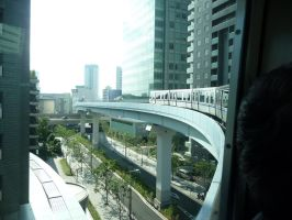 View from monorail by nejinoki