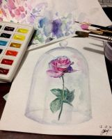aquarelle by Ksivte