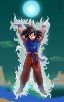 Goku week 1 by mitchellellis