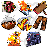Zisteau Twitch Icons by IntroducingEmy