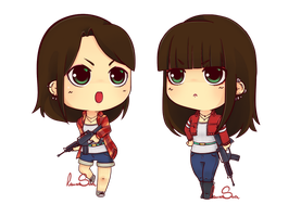 Laura's Chibis by LauraSan