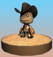 LittleBigPlanet Cow Sackboy 2 by beere