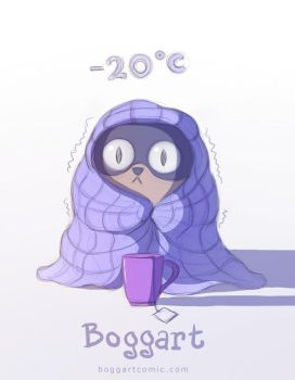 boggart cold by Apofiss